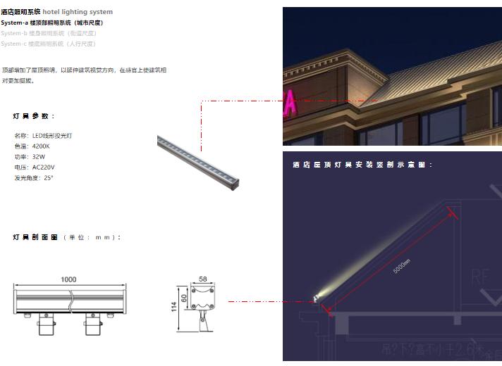 [上海]浦江镇125-3地块浦江皇冠假日酒店建筑设计文本-酒店照明系统