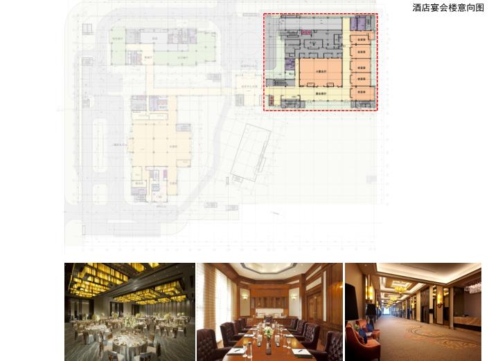 [上海]浦江镇125-3地块浦江皇冠假日酒店建筑设计文本-酒店宴会楼意向图