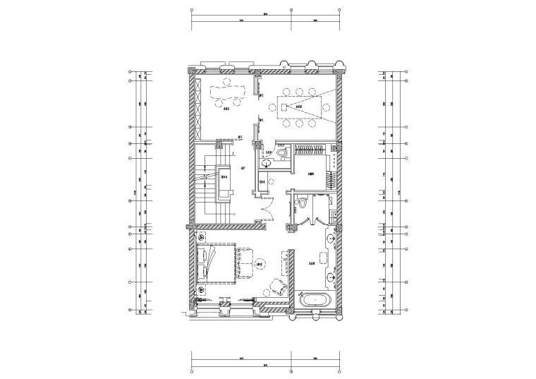 [山东]绿城济南百合花园会所室内设计施工图