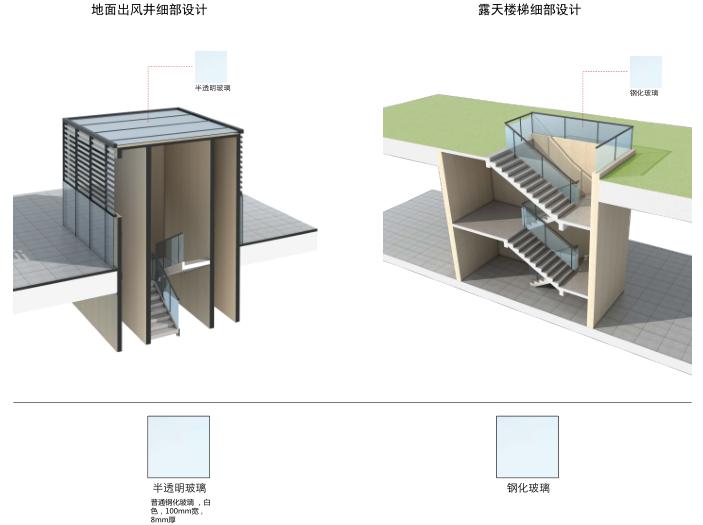 [上海]浦江镇125-3地块浦江皇冠假日酒店建筑设计文本-酒店附属构筑物设计