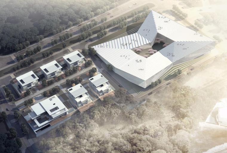 [山东]海尔研究中心企业办公楼建筑方案文本(现代风格|PDF+61页)