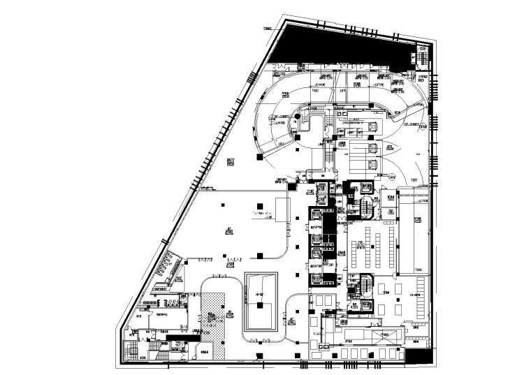 [上海]阿迪达斯上海新办公室丨机电图+灯光图CAD文件