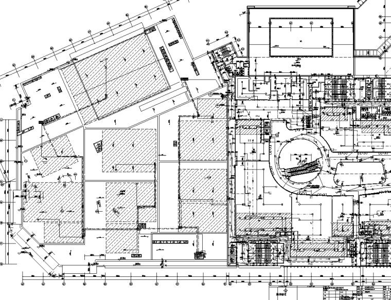 江西棚户改造区商业楼电气施工图