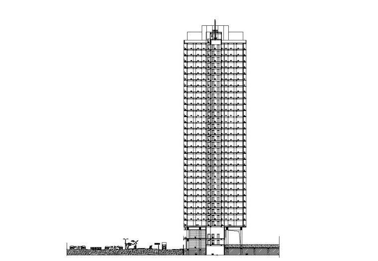 [广东]欧陆风格居住区建筑施工图设计(CAD)