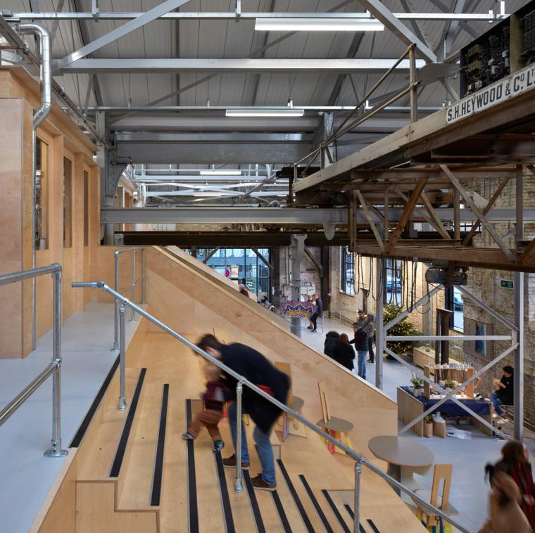 英国Forge办公室和展览建筑-Emrys_Craft_Central_at_The_Forge_30
