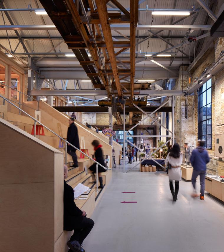 英国Forge办公室和展览建筑-Emrys_Craft_Central_at_The_Forge_29
