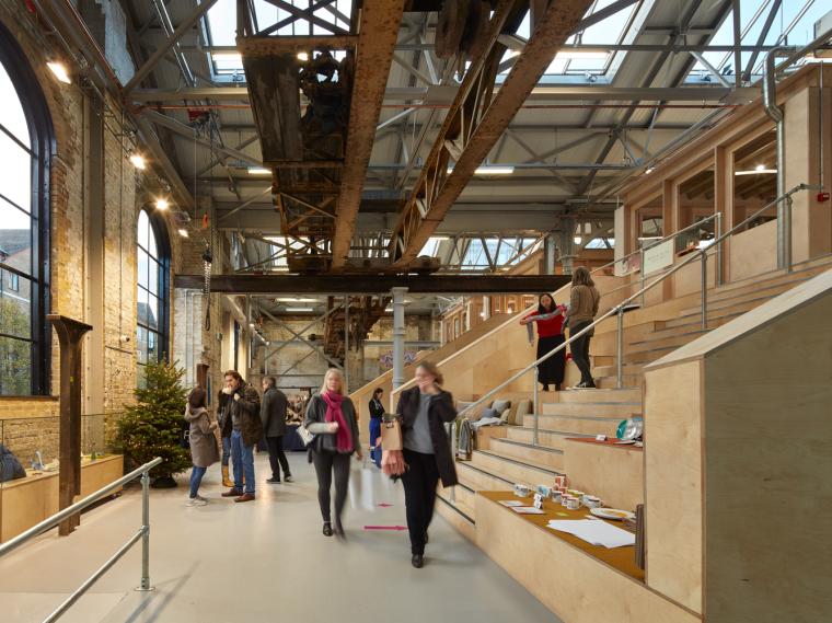 英国Forge办公室和展览建筑-Emrys_Craft_Central_at_The_Forge_40