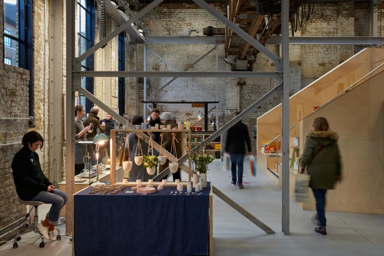 英国Forge办公室和展览建筑-Emrys_Craft_Central_at_The_Forge_41