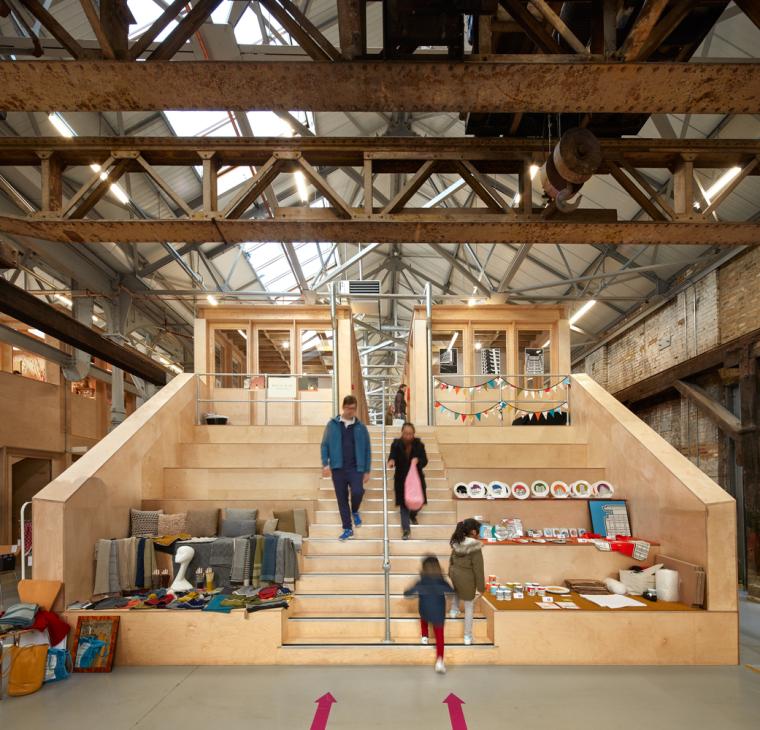英国Forge办公室和展览建筑-Emrys_Craft_Central_at_The_Forge_44.
