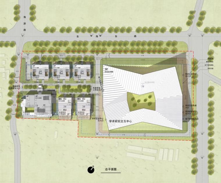 [山东]海尔研究中心企业办公楼建筑方案汇报文本(PPT+34页)