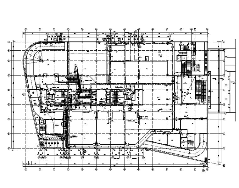 上海虹桥商务区科技大厦给排水施工图
