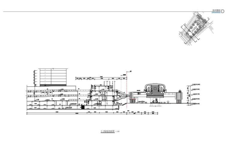 [广东]欧陆风格居住区建筑方案文本(PDF+127页)-2-2剖面图