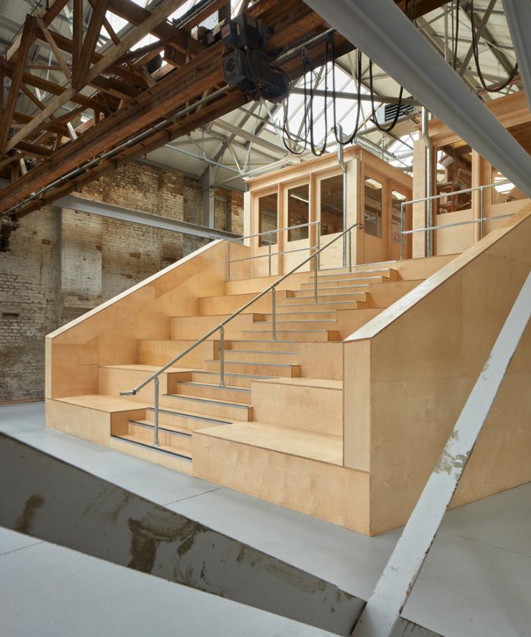 英国Forge办公室和展览建筑-Emrys_Craft_Central_at_The_Forge_1