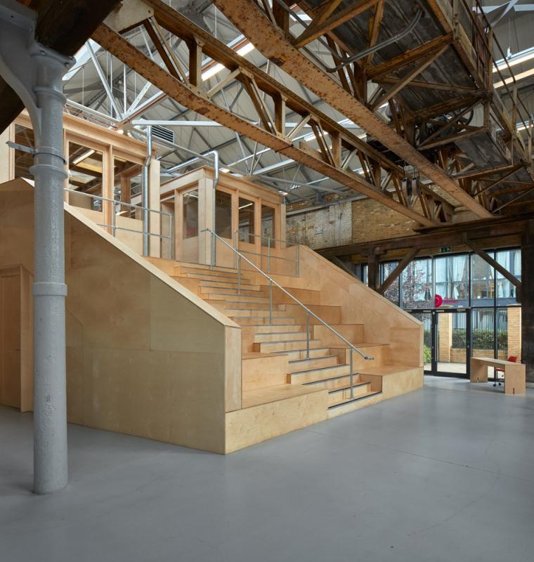 英国Forge办公室和展览建筑-Emrys_Craft_Central_at_The_Forge_3