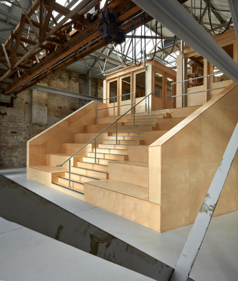 英国Forge办公室和展览建筑-Emrys_Craft_Central_at_The_Forge_4