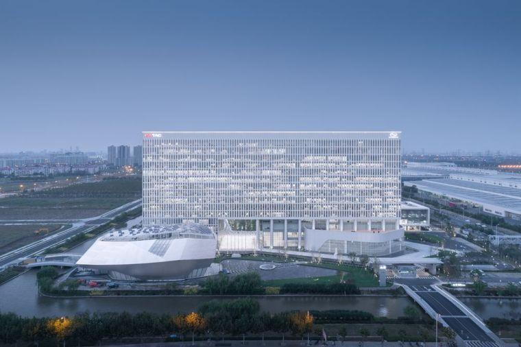 总包设计|中国汽车产业园区新标杆——上汽通用泛亚金桥基地
