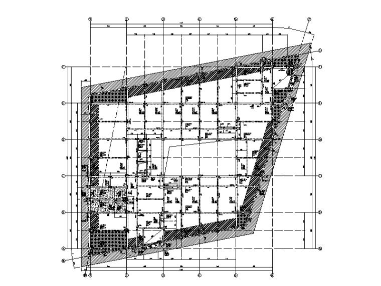 南京银行全套建筑结构施工图(2015)