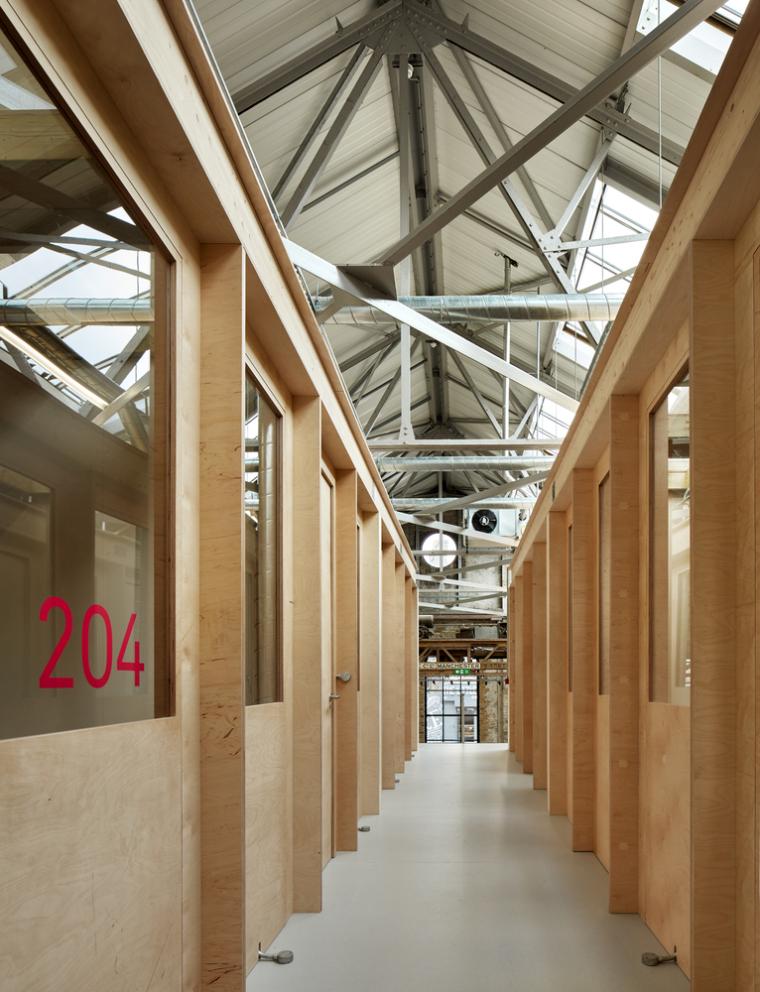 英国Forge办公室和展览建筑-Emrys_Craft_Central_at_The_Forge_8