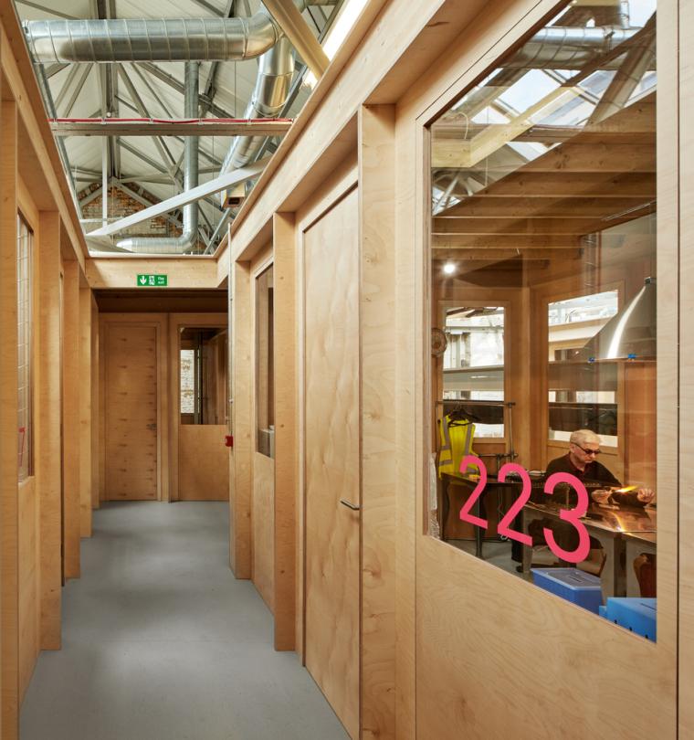 英国Forge办公室和展览建筑-Emrys_Craft_Central_at_The_Forge_9