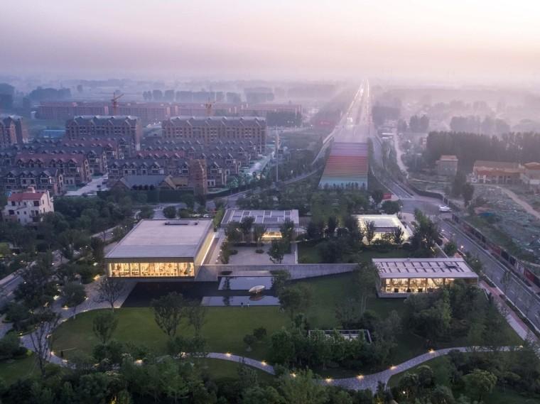 郑州普罗理想国艺术文化中心-01_建筑鸟瞰