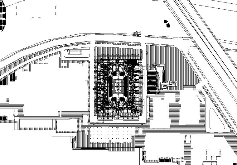 上海金融大厦裙房装修工程电气施工图(2018、含消防)