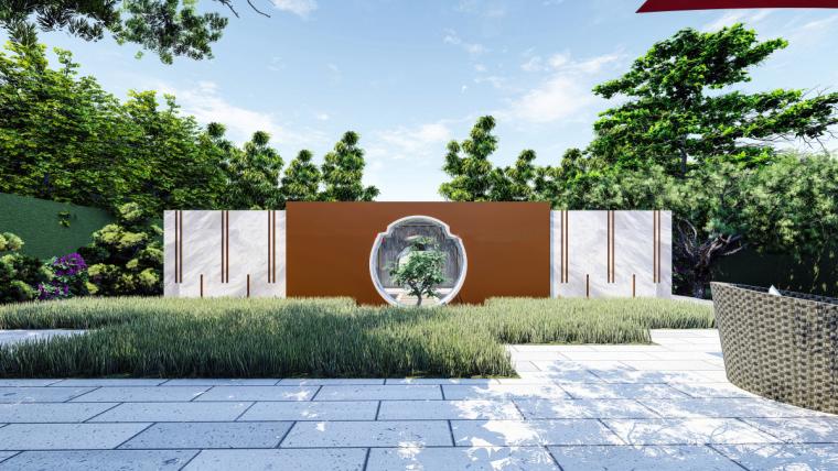 [江苏]苏州蓝光雍锦园中式示范区建筑模型设计(中式风格)-苏州蓝光雍锦园中式示范区 (6)