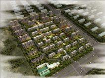 绿地·香堤九里尚品居住区sbf123胜博发娱乐模型设计(新亚洲风格)