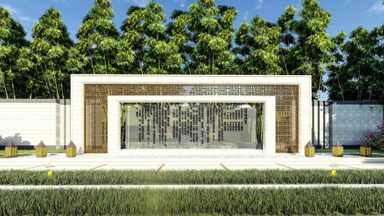 [江苏]苏州蓝光雍锦园中式示范区建筑模型设计(中式风格)-苏州蓝光雍锦园中式示范区 (7)