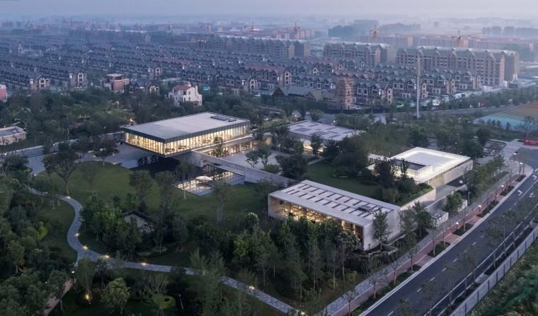 郑州普罗理想国艺术文化中心-03_建筑俯瞰