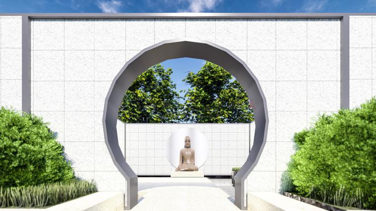 [江苏]苏州蓝光雍锦园中式示范区建筑模型设计(中式风格)-苏州蓝光雍锦园中式示范区 (9)