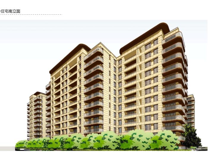 绿都溁湾镇S5地块立面深化方案(PDF,72页)-住宅立面