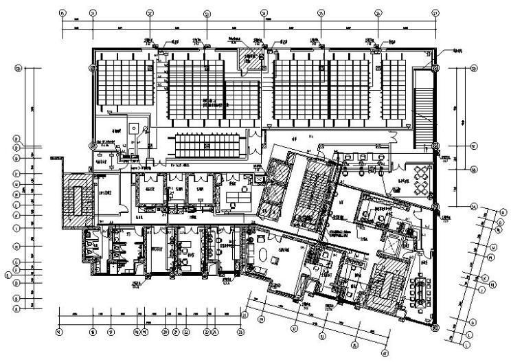 上海房档案室新馆装修项目电气施工图