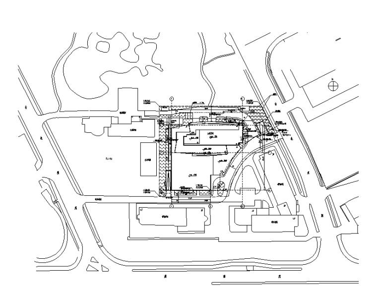 上海综合服务楼强弱电电气施工图(2016)
