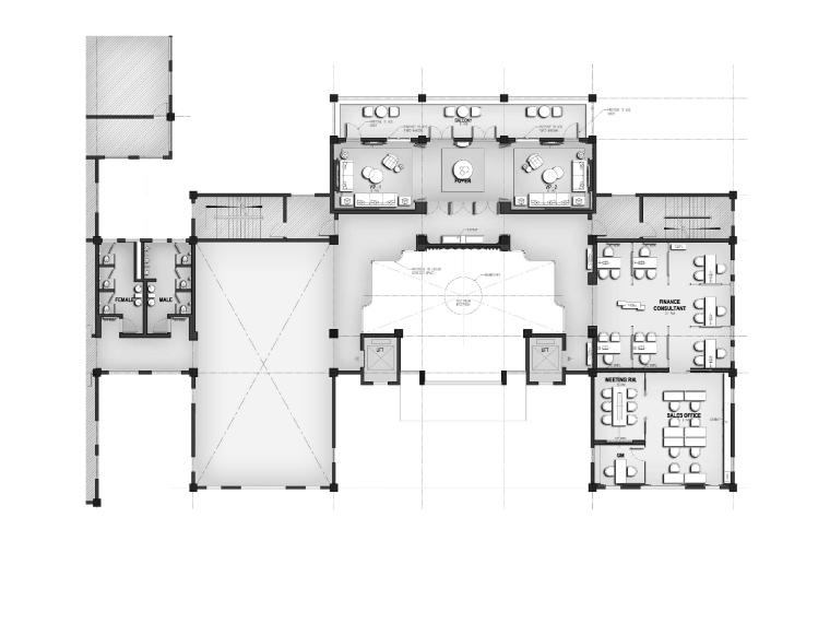 [珠海]威尔逊-珠海华发山庄销售中心+两套样板间丨方案PPT+效果图