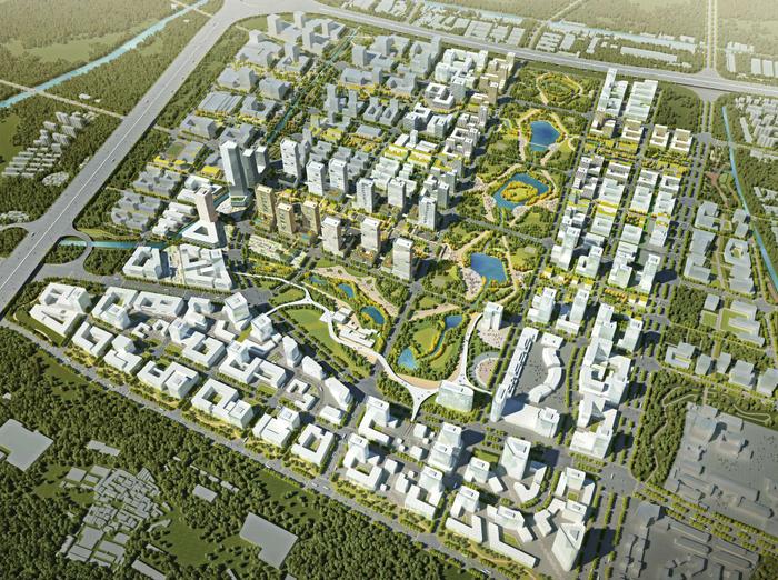 [上海]桃浦科技智慧城深化城市设计文本(JPG,323页)