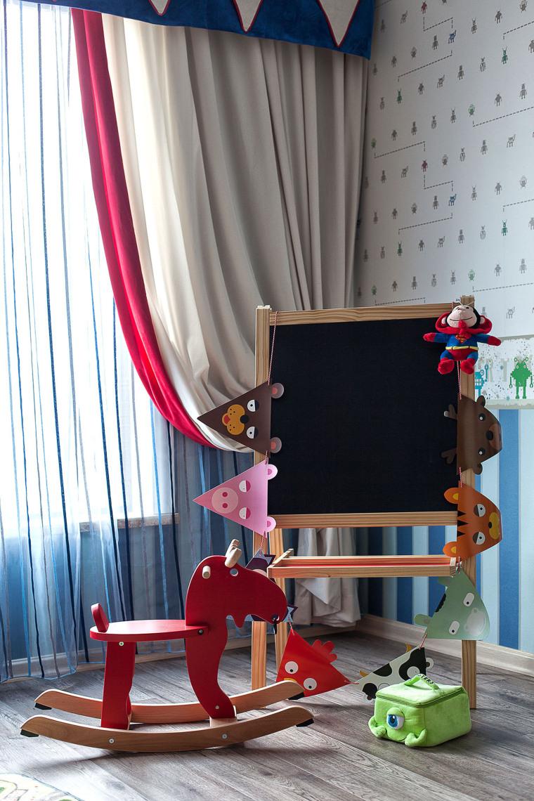 [武汉]福星惠誉国际城一期样板间CAD施工图-实景