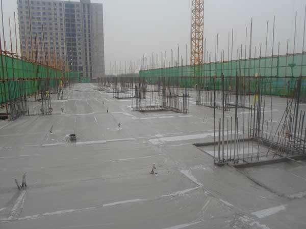 混凝土浇筑监理日志