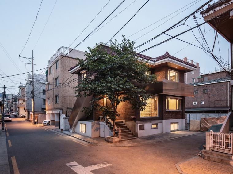 韩国SalonGuui住宅