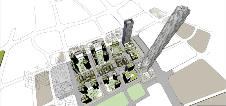 [四川]绿地集团成都东村居住区CBED概念方案设计