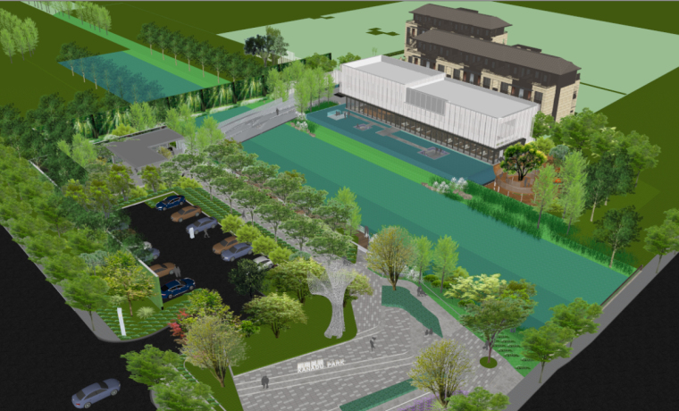 [上海]东原桐南美麓示范区+别墅景观设计-上海东原桐南美麓示范区+别墅 (6)