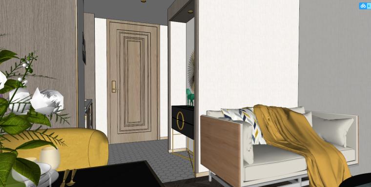 后现代风格轻奢公寓建筑模型设计-后现代/轻奢公寓 (3)