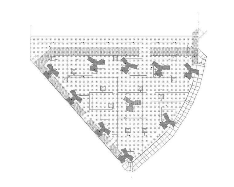 地下室底板结构图
