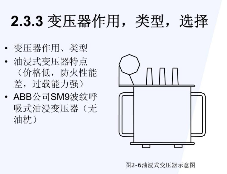 变压器作用类型