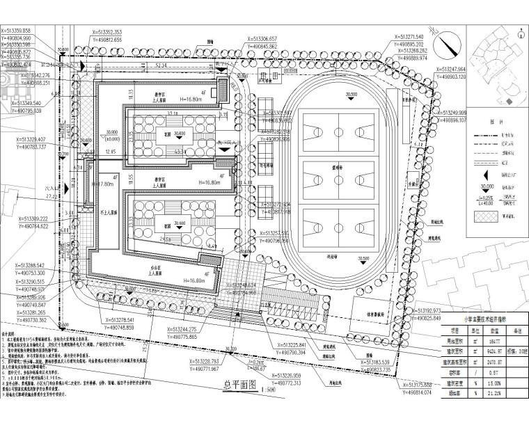 小学总平面图20131014-Model