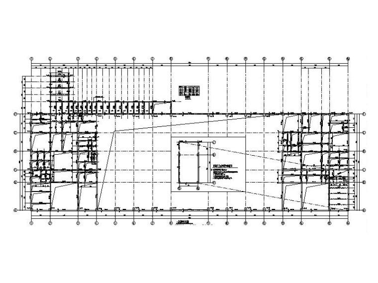 火车站蒙山站站房及雨棚结构初步设计施工图(2017)