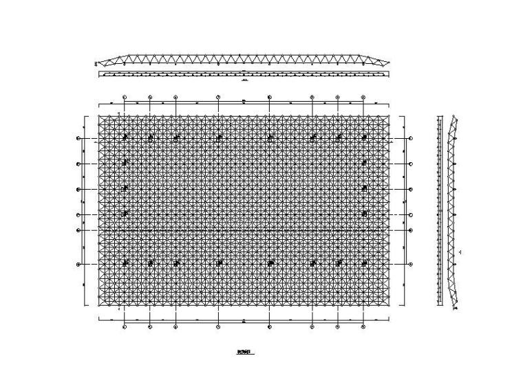 火车站费县北站站房及雨棚结构初步设计施工图(2017)