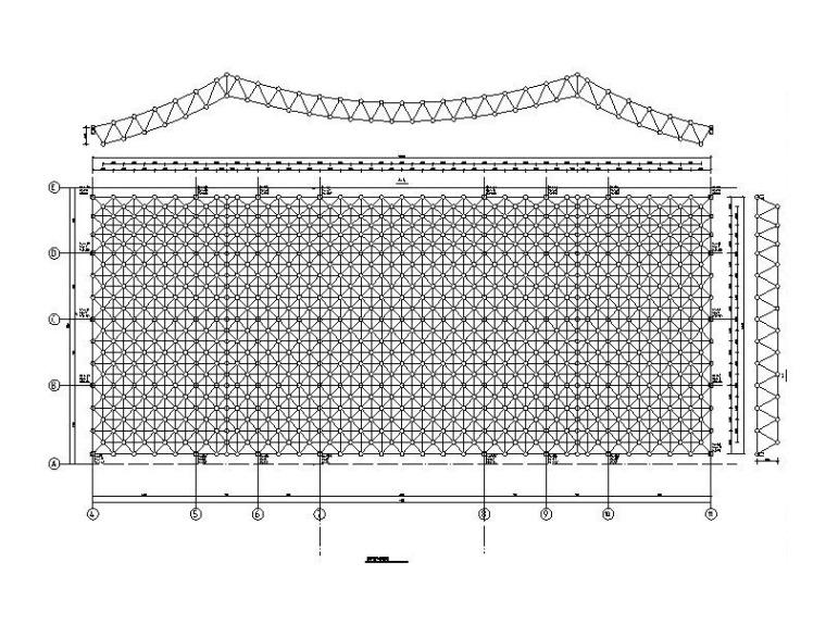 火车站泗水南站站房及雨棚结构初步设计施工图(2017)