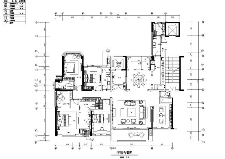 [广东]逸尚东方-惠州中洲湾上花园样板间施工图+实景拍摄+设计说明