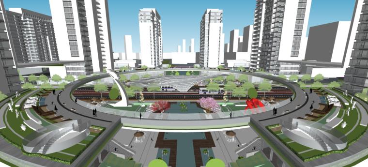 [山东]济南鲁能张马片区现代高层建筑设计(现代风格)-山东济南鲁能张马片区 (3)
