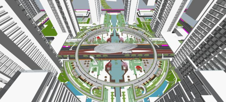 [山东]济南鲁能张马片区现代高层建筑设计(现代风格)-山东济南鲁能张马片区 (2)